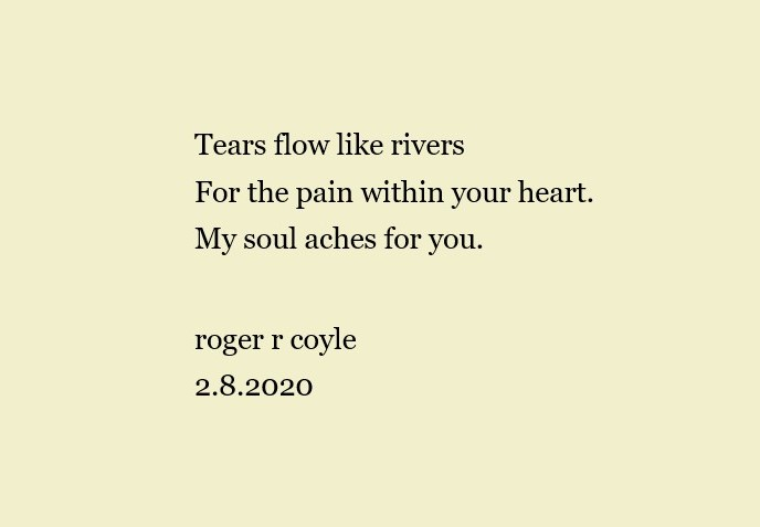 Tears Flow Like Rivers