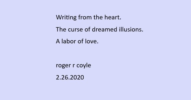 Writing from the heart. (3)