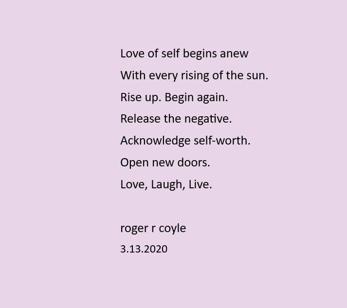 Love of Self (2)