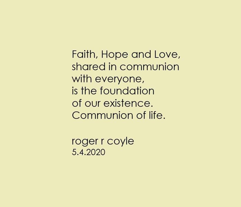 Communion of life