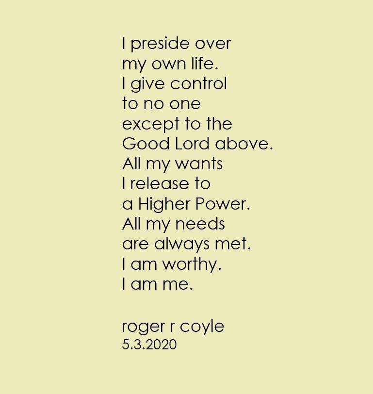 I Preside