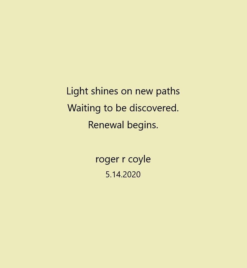 Renewal Begins
