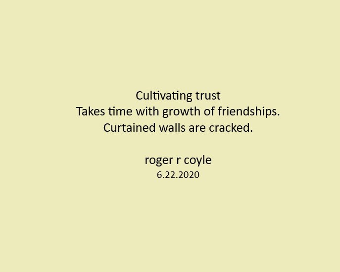 Cultivating Trust
