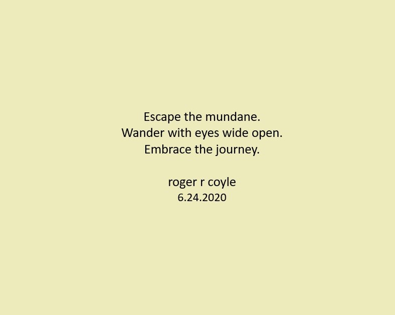 Escape Mundane