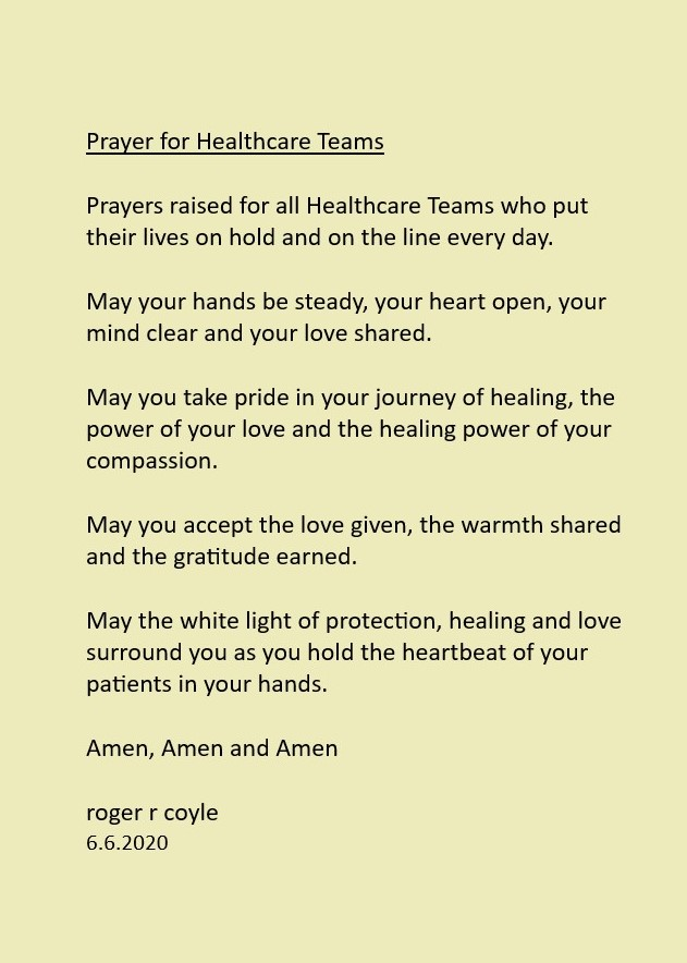 Prayer for Healthcare Teams