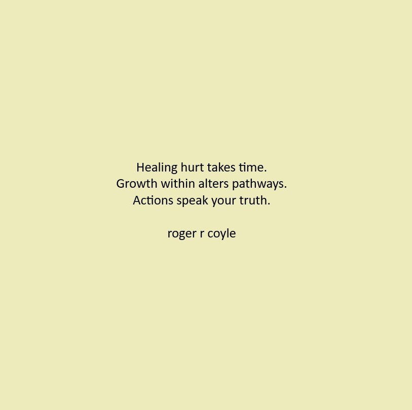 Healing Hurt
