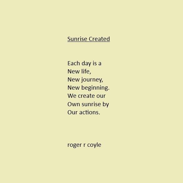 Sunrise Created